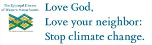 Climate Banner, Episcopal Diocese of Western MA