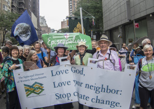 Episcopal Diocese of WMA at People's Climate March