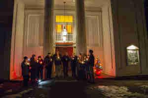 #Light for Lima, First Congregational Church, Ashfield, MA, Dec. 7, 2104