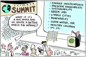 Joel Pett, Climate Summit