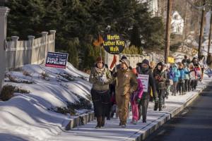 Encountering opposition: build the pipeline Photo © Robert jonas, 2016