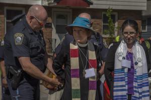 Arrested in W. Roxbury (photo credit: Robert A. Jonas)