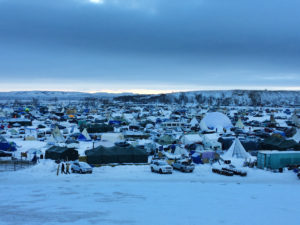 Oceti Sakowin Camp. Photo credit: Michael Arase-Barham