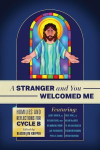 """A Stranger and You Welcomed Me"" book cover"
